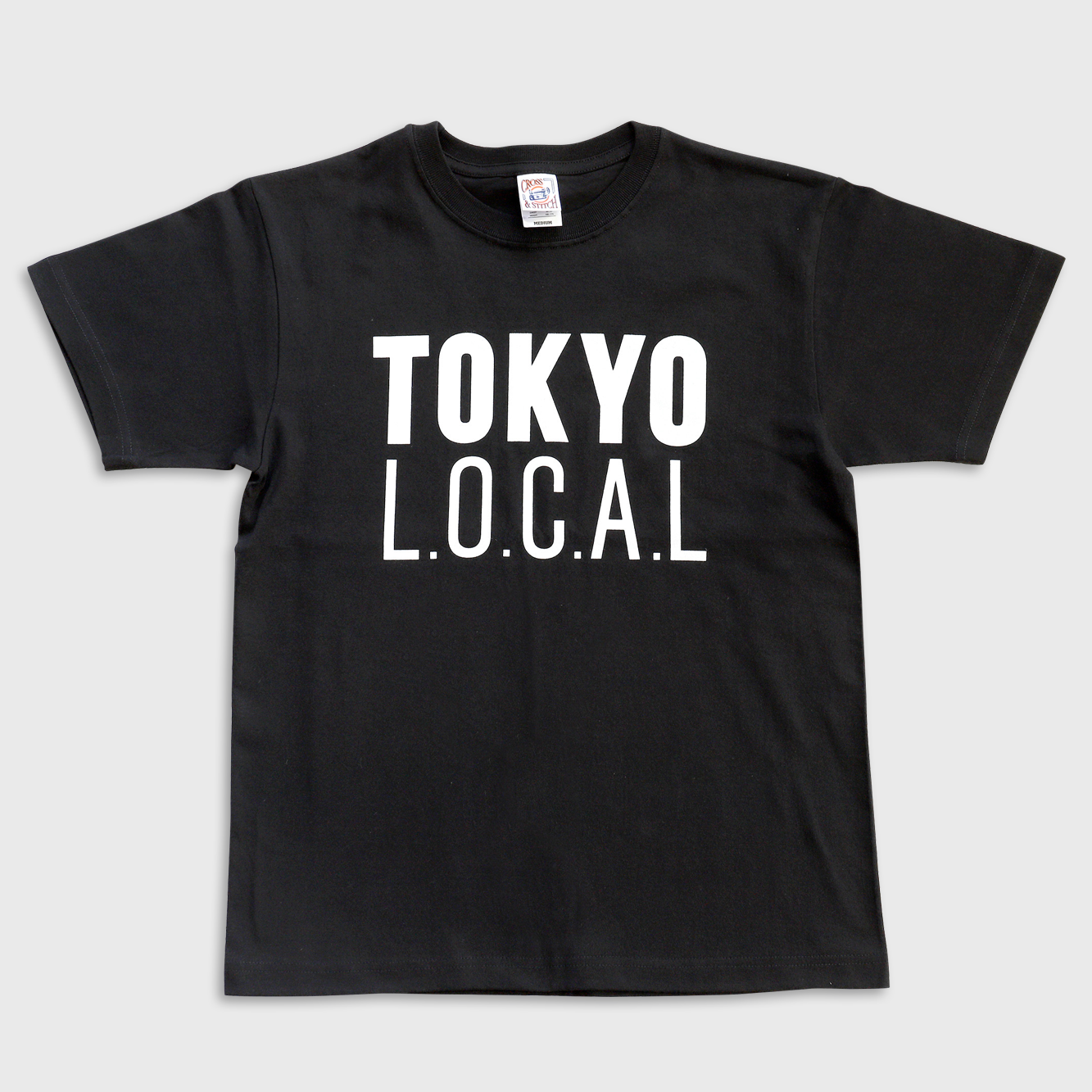 「ベーシックロゴ」 TOKYO L.O.C.A.L Tシャツ(バックプリント:Machiya Base)