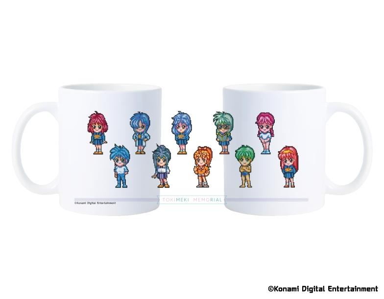 ときめきメモリアル  SDキャラ集合 マグカップ