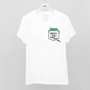 OKCAT Tシャツ OKCAT'S ALWAYS INSIDE YOU