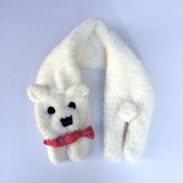 白クマのマフラー