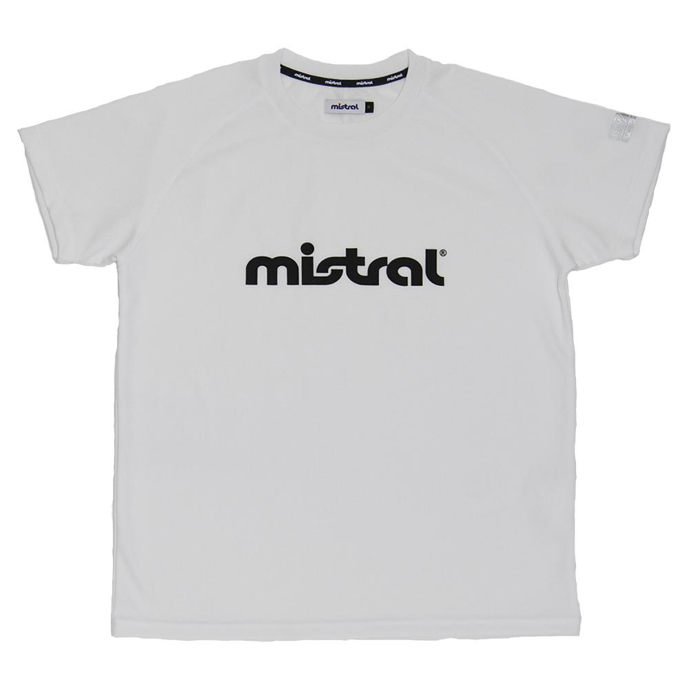 ミストラル メンズ [ HP-DRY 半袖Tシャツ -ミストラル- ] WHITE
