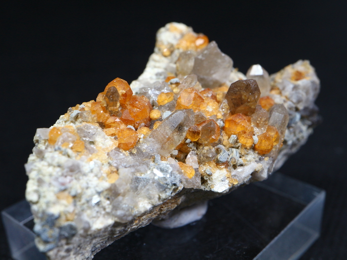 スペサルティンガーネット 満礬柘榴石 32,8g SPS002 原石 鉱物 天然石 パワーストーン