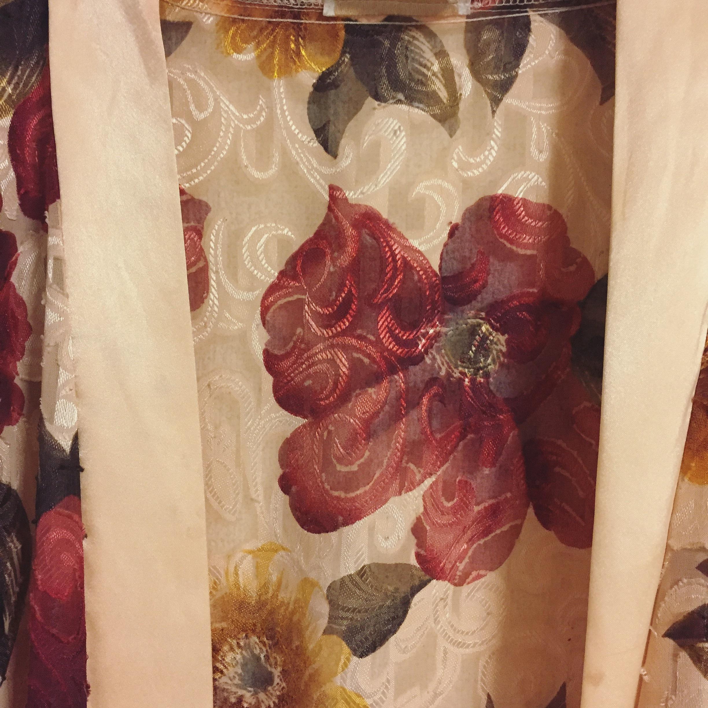 vintage flower gown