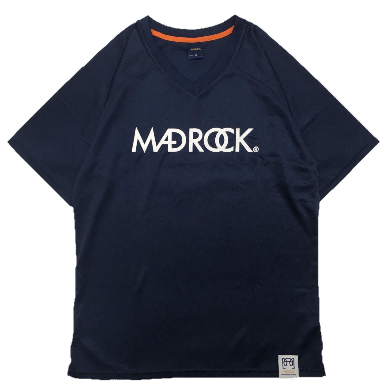 マッドロック / ベーシックトレーニングシャツ / ドライタイプ / ネイビー