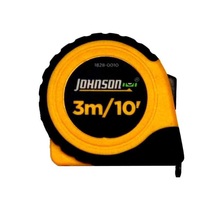 Johnson Level 3mメジャースケール (インチ/メトリック併記)