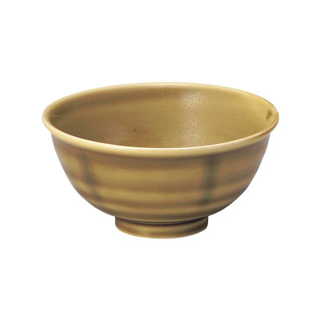 【2001-6020】強化磁器 ろくべい茶碗 わら