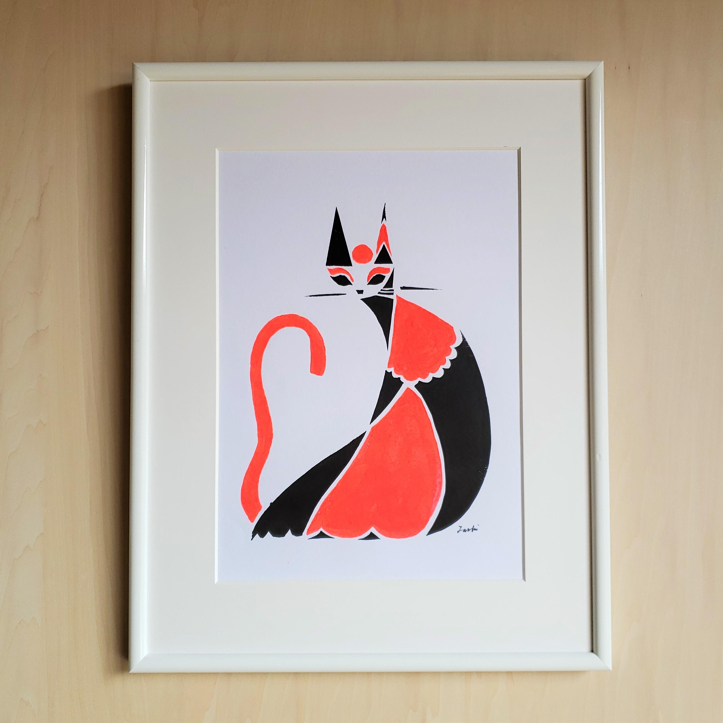 【原画レンタル】TTAR_001(cats_orange)