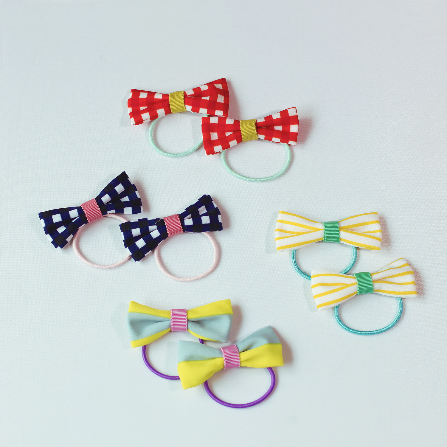 wacco×Neige accessories. リボンヘアゴム2個セット