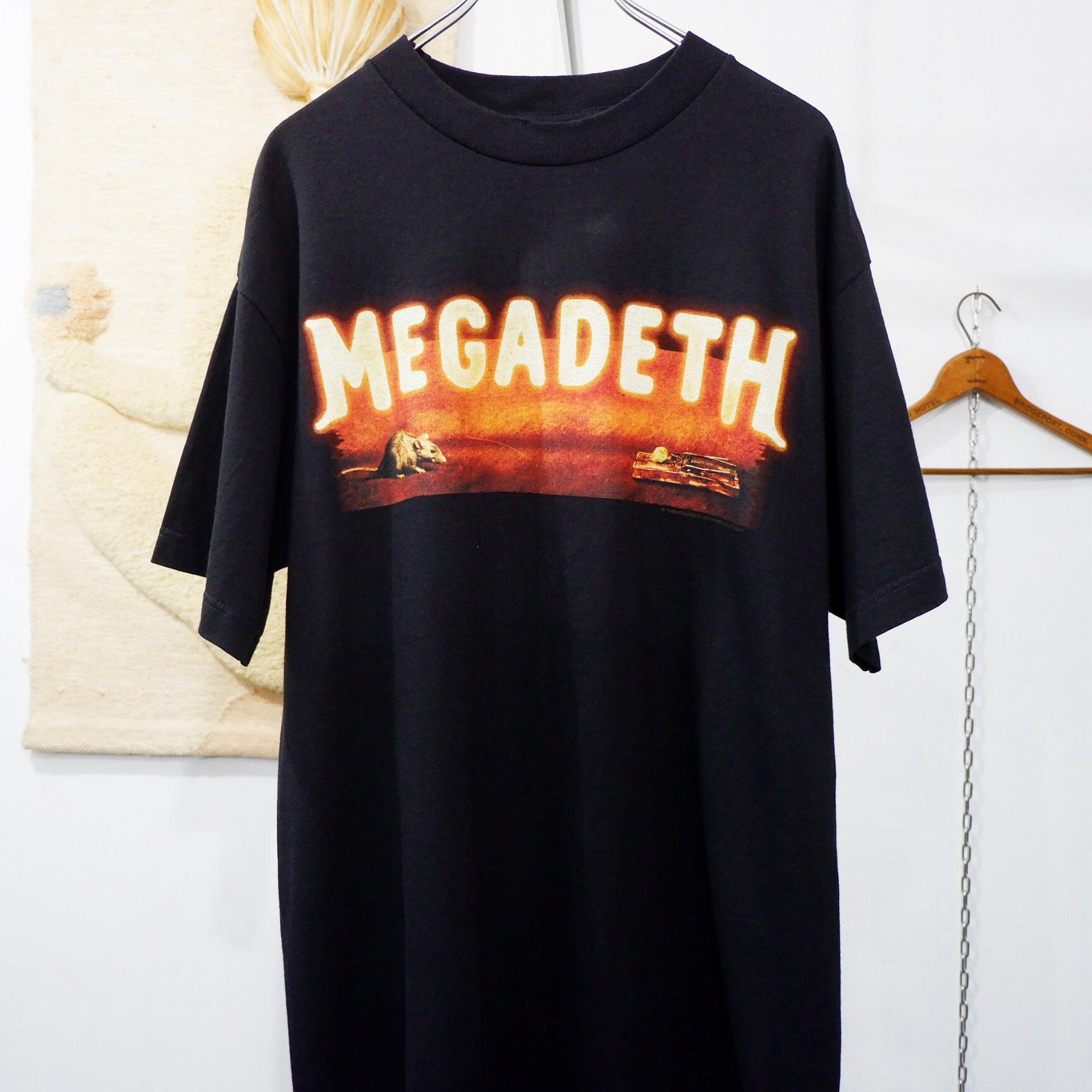 """アメリカ古着 1999s vintage """"MEGADETH"""" バンド Tシャツ"""