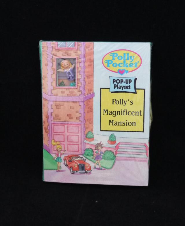 ポーリーポケット 飛び出す絵本 Polly's Magnificent Mansion 新品未開封