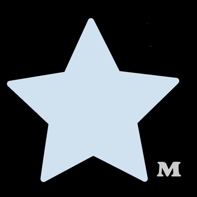 星型(M)★ライトブルー