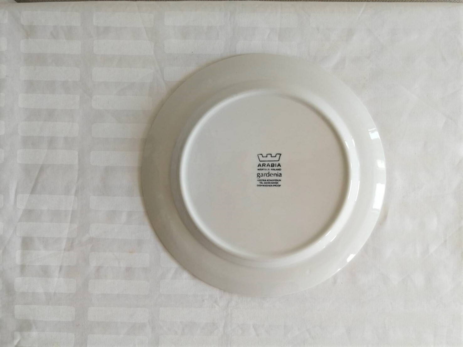 プレート / アラビア ヴィンテージ /Gardenia ガーデニア / 23cm (WHxBL)
