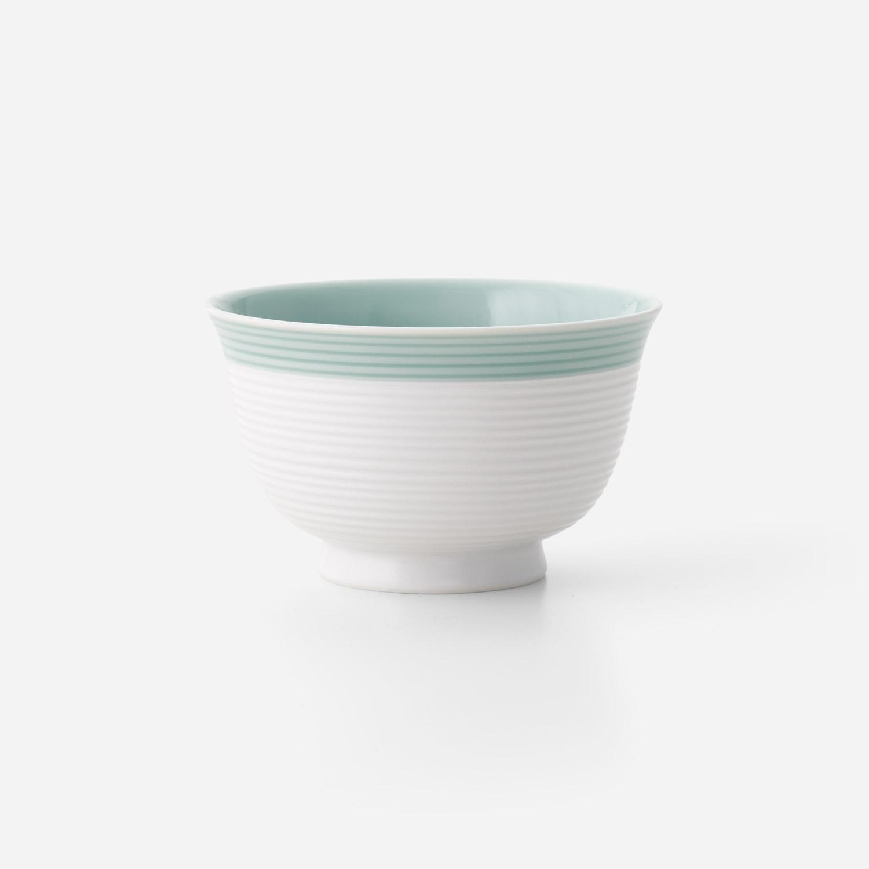 青磁白彩 小丼椀