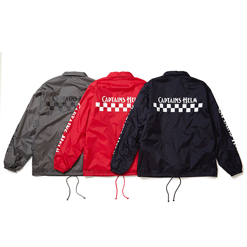 CAPTAINS HELM CH CHECKER COACH JACKET