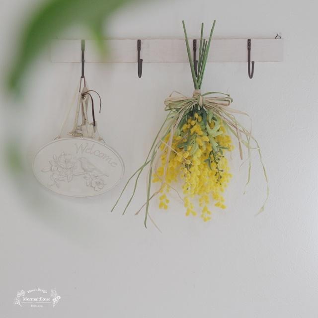 2種類ミモザの春色シンプルスワッグ