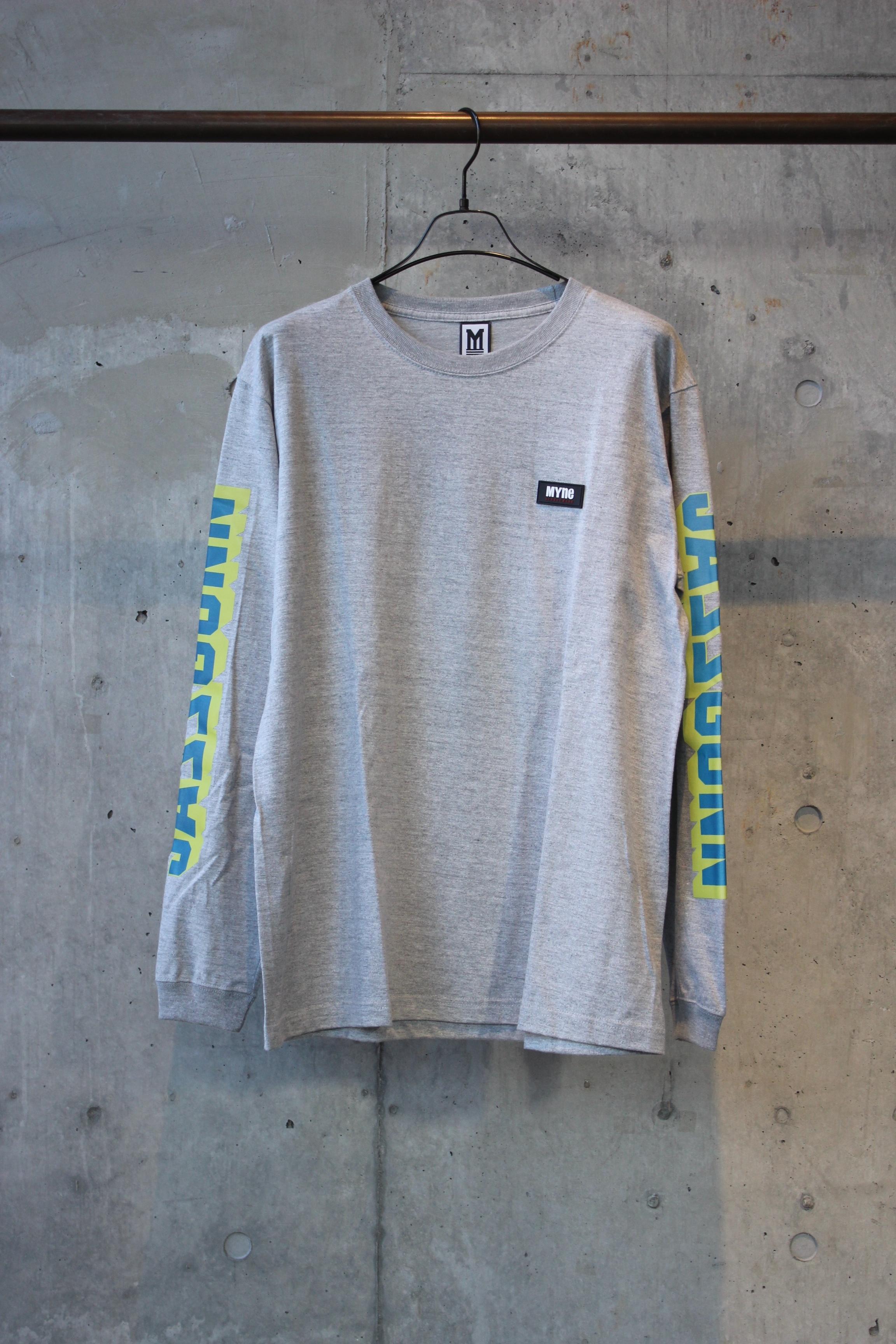 【30%OFF】JASS GUNN L/S T-shirt / GRAY - 画像1