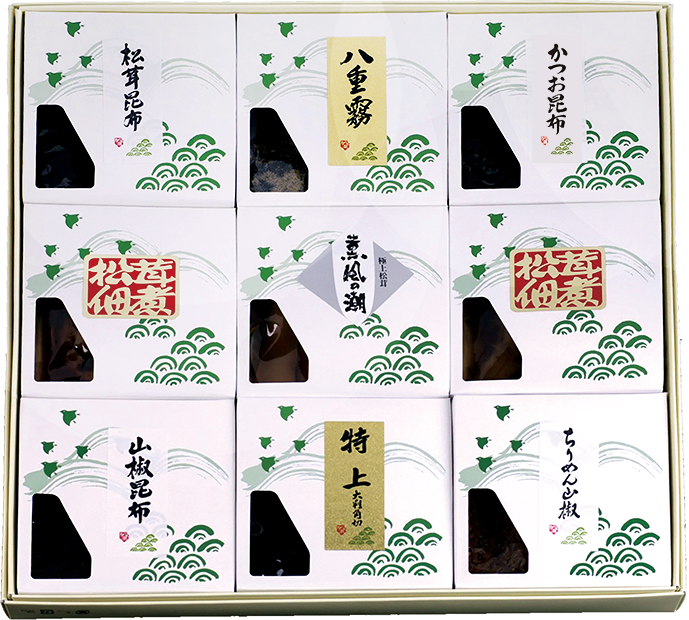 KN-100 松茸佃煮詰合せ(9品) - 画像1