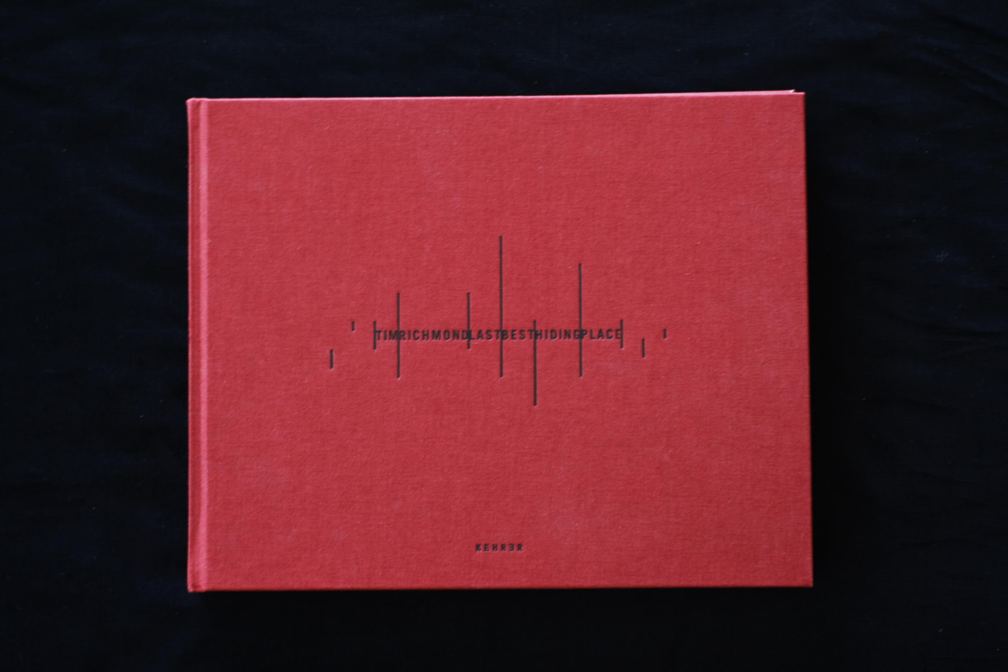 """Photo Book """"LAST HIDING PLACE"""" / Tim Richmond 写真集"""