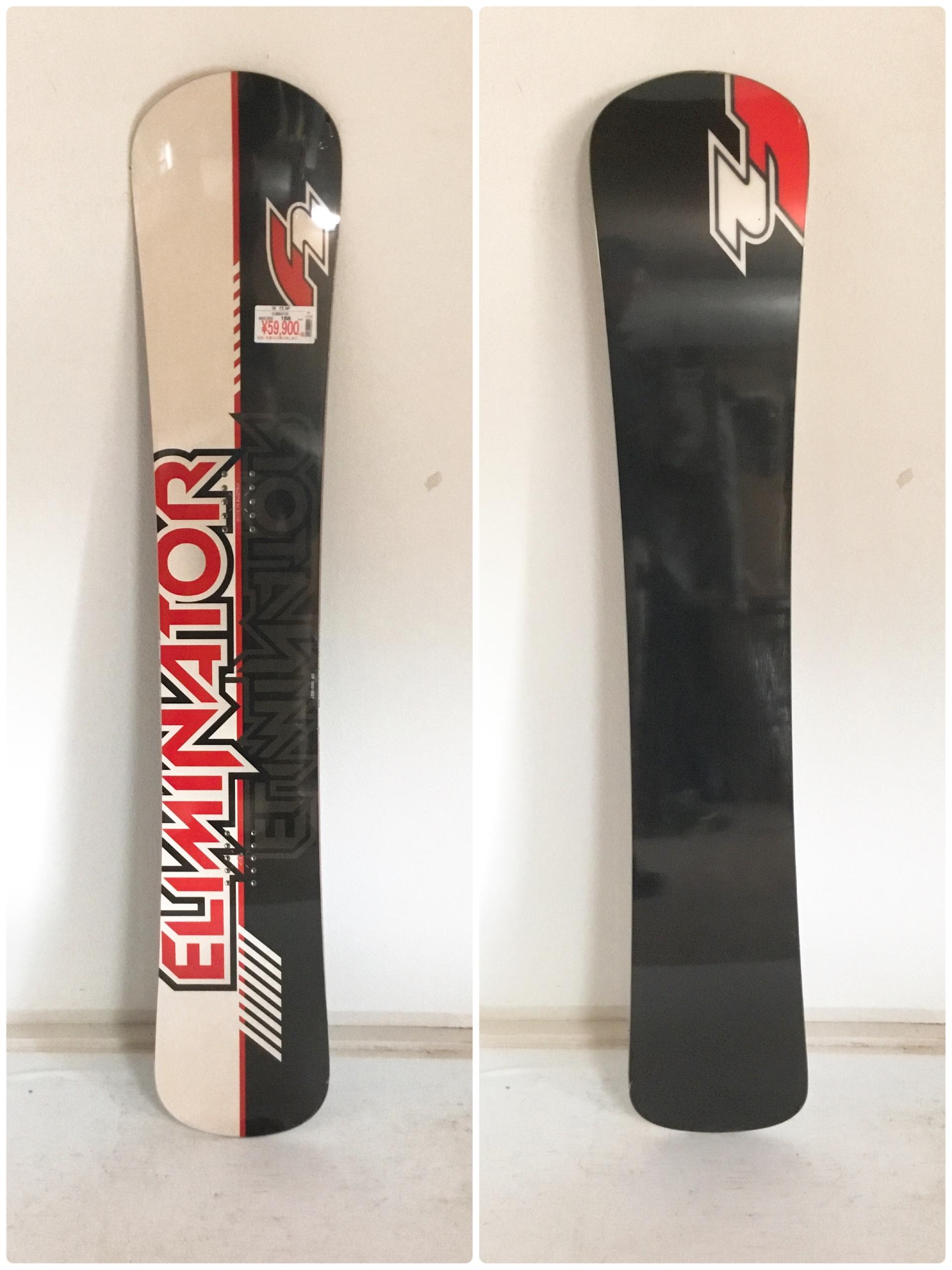 新品【 F2 】ELIMINATOR  158 15-16モデル  (507)
