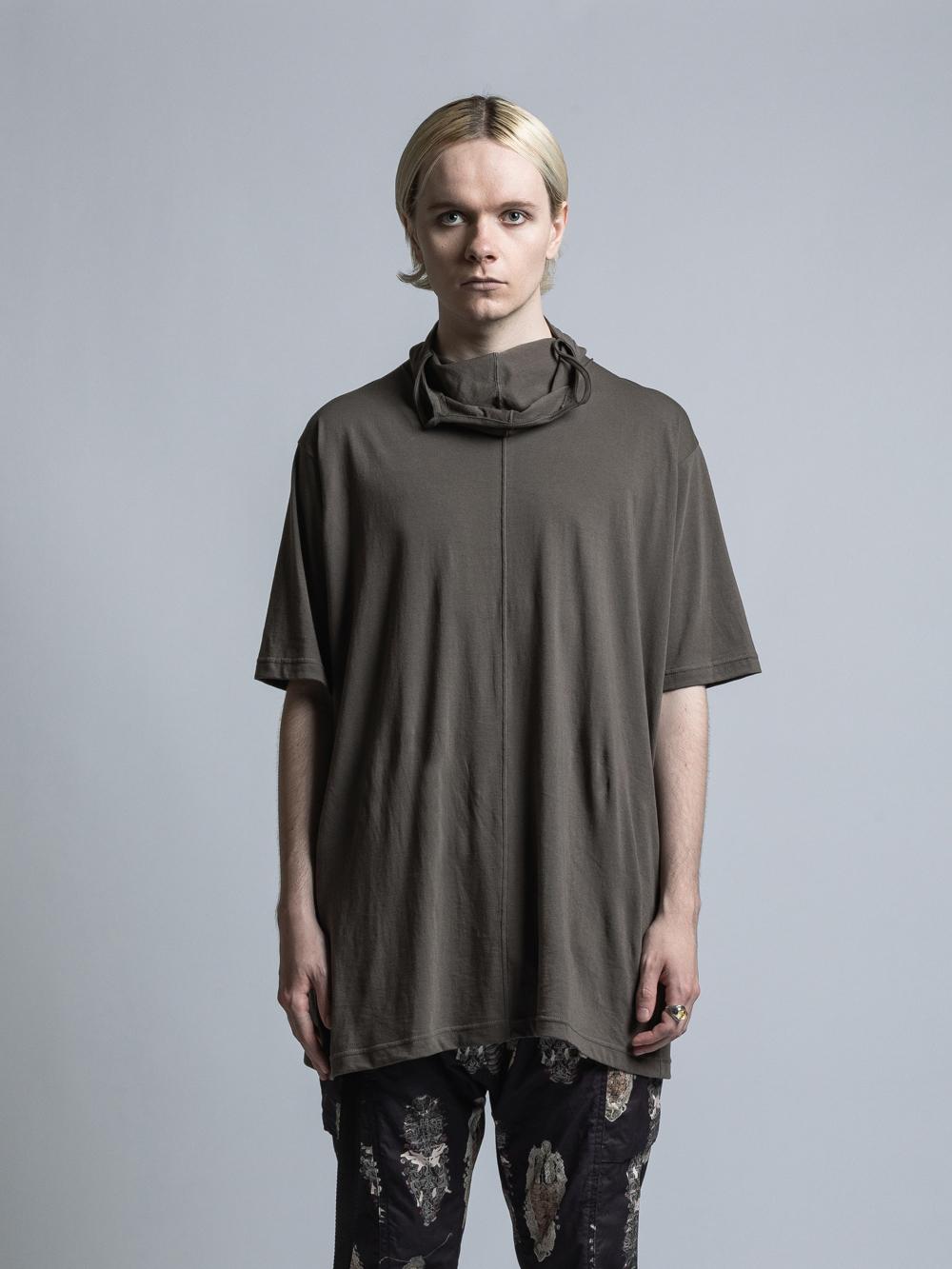 VI-3356-01 / 40/-天竺マスクタートル半袖Tシャツ