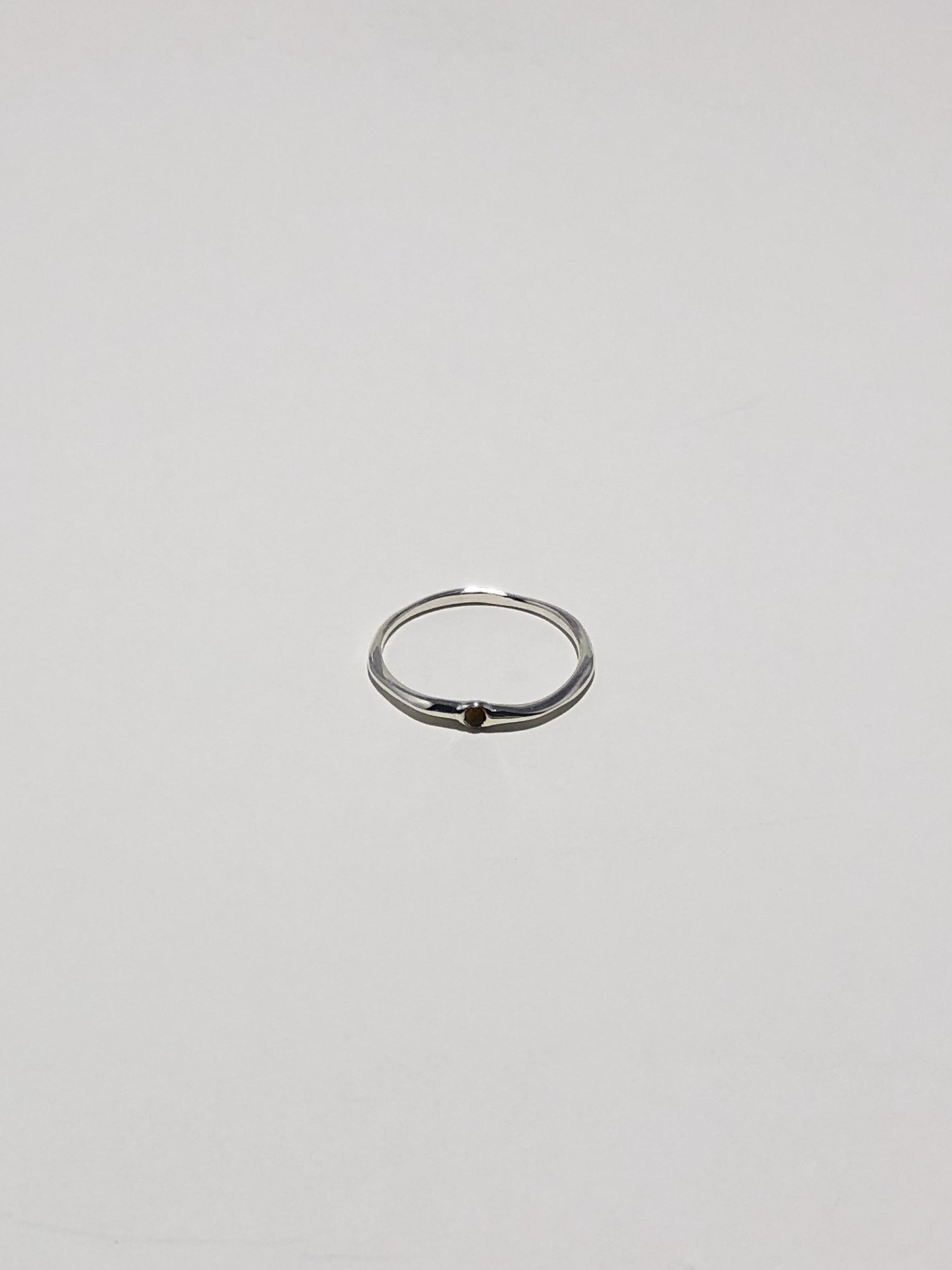 <6/28 発売>random cut gem ring -onyx-
