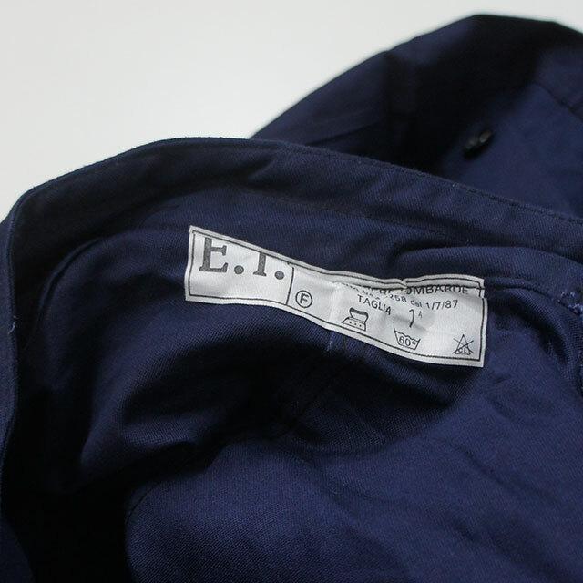 【再入荷なし】 dead stock デッドストック イタリア軍空軍つなぎ NAVY ネイビー メンズ レディース つなぎ オールインワン ゆったり 通販 (品番dkd-pts-0104)