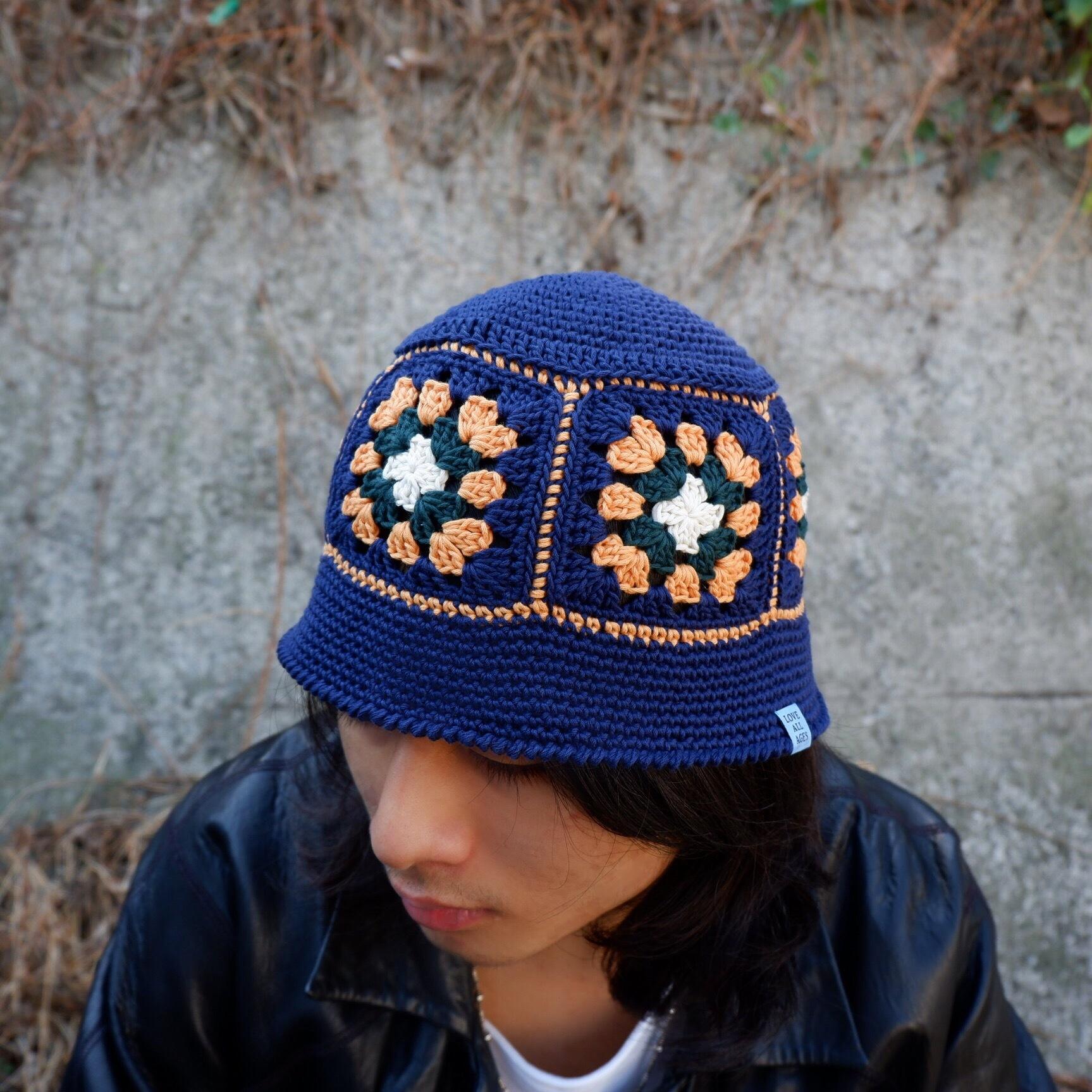 【Antage】Handmade Crochet Hat   B