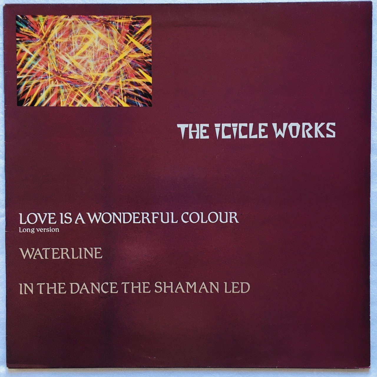 【12inch・英盤】The Icicle Works  /  Love Is A Wonderful Colour (Long Version)