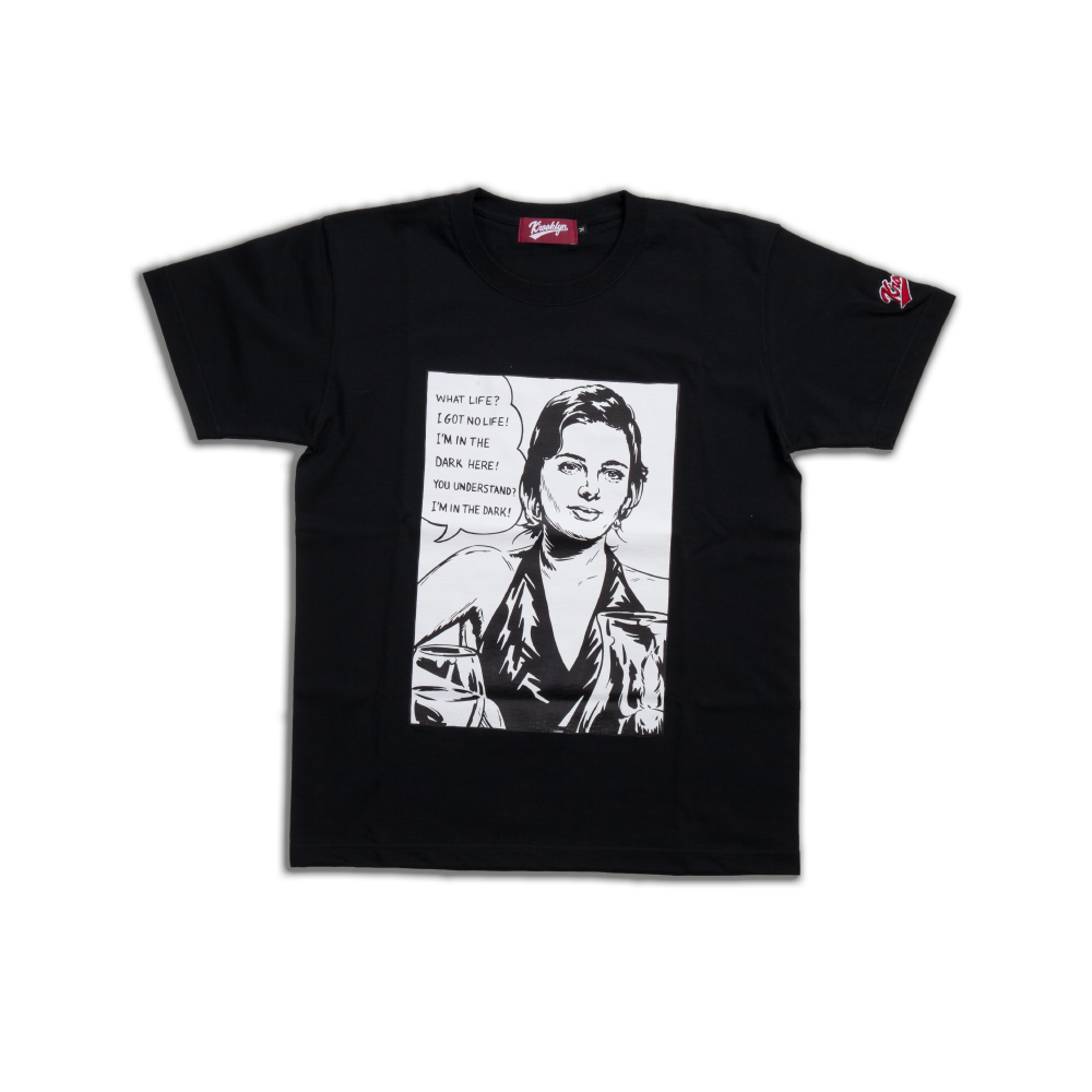 K'rooklyn  T-Shirt Black (Scent of a Woman Model)