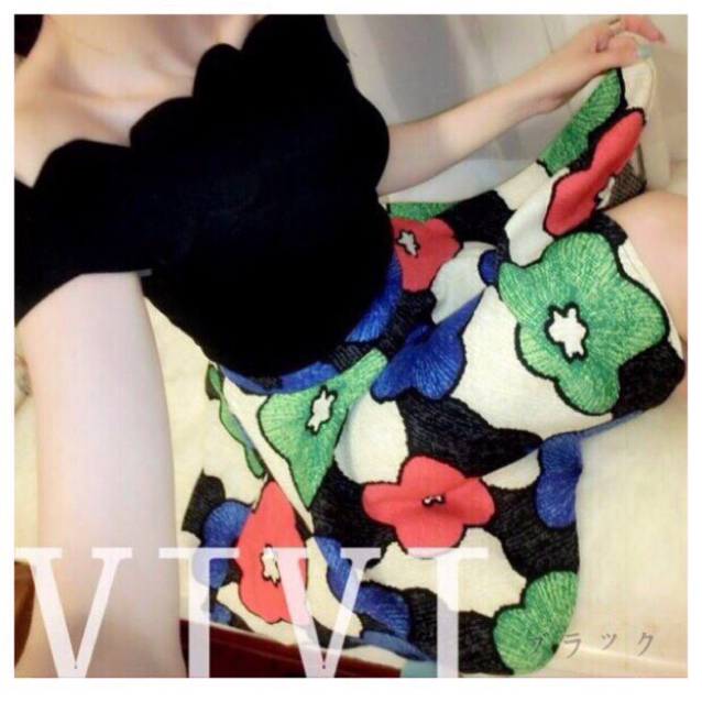 2点セット☆オフショルと花柄スカート