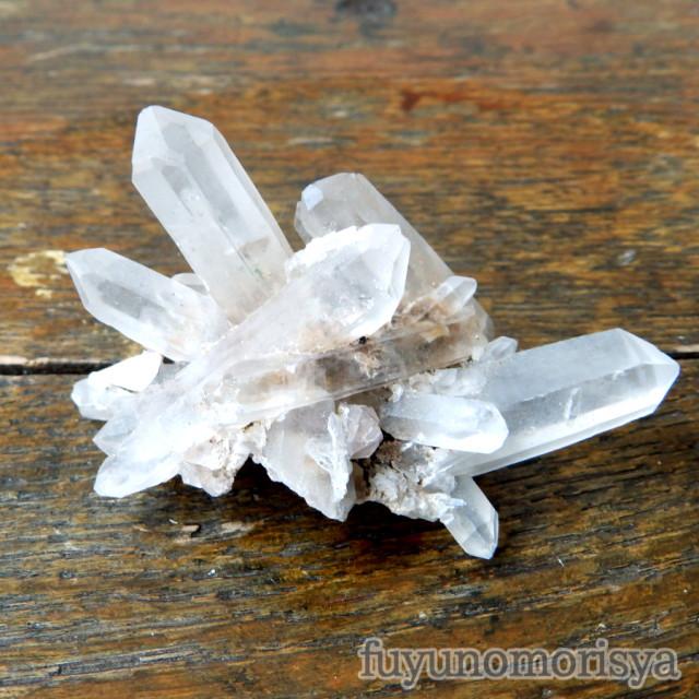 鉱物(テント型ケース大) - 水晶 - フユノモリ社セレクト鉱物 - no20-fuy-08a
