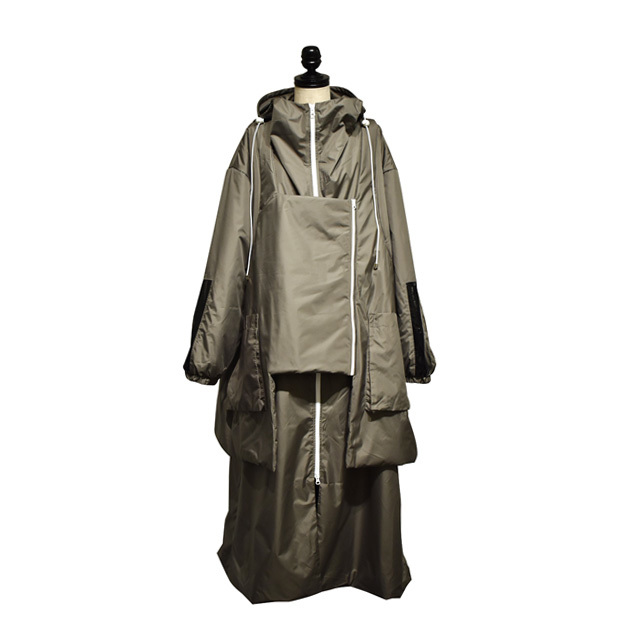 Svarka / Raincoat new wings / Khaki