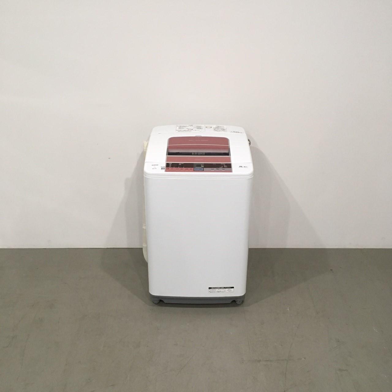 【極美品】日立 全自動洗濯機 BW-7TV 2015年製 ビートウォッシュ