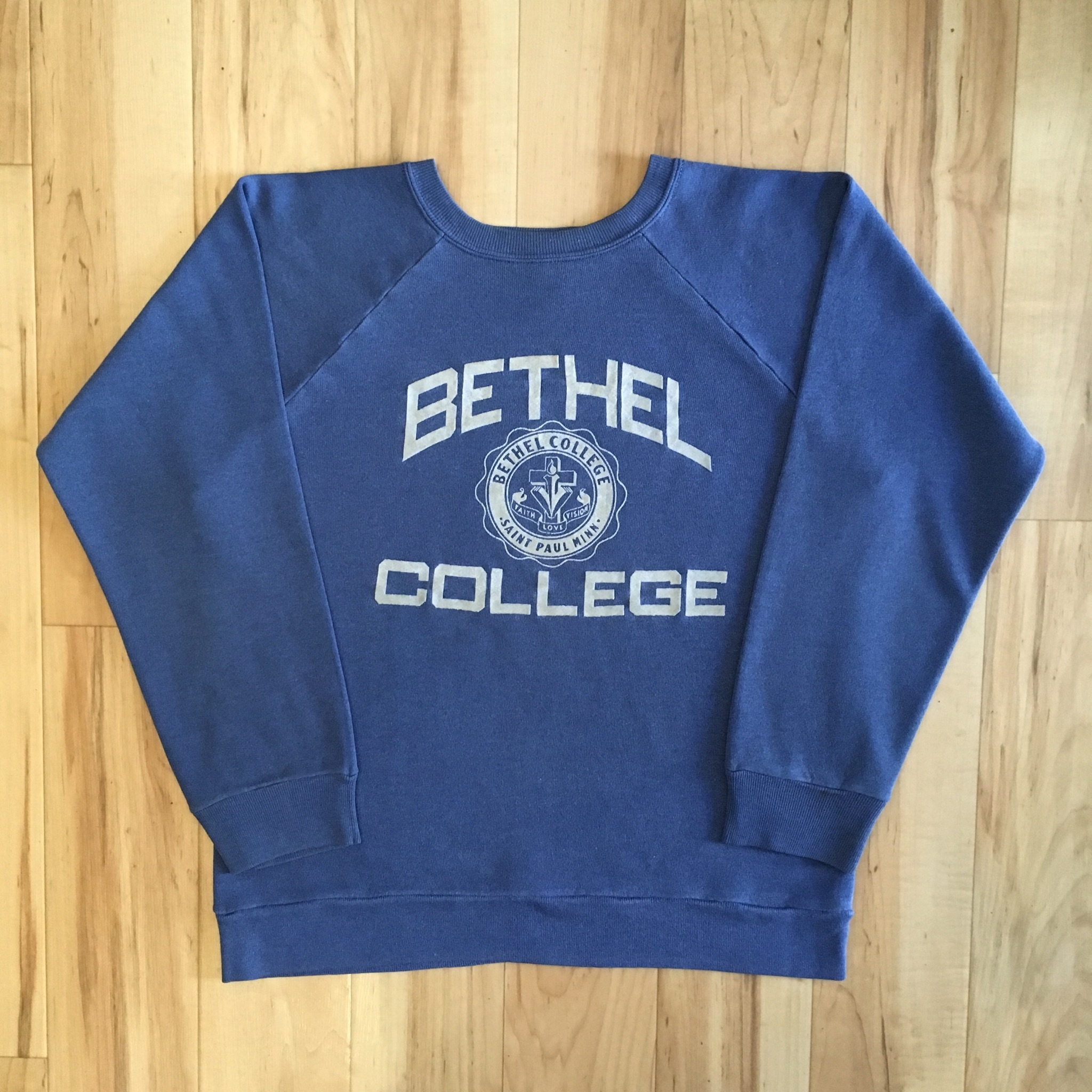 80's Champion BETHEL COLLEGE Ragulan Sweat