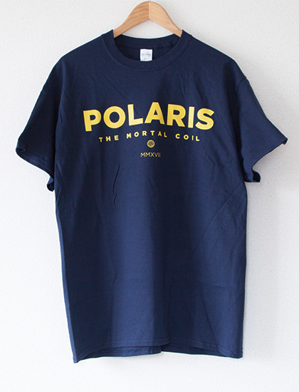 【POLARIS】Globe T-Shirts (Navy)