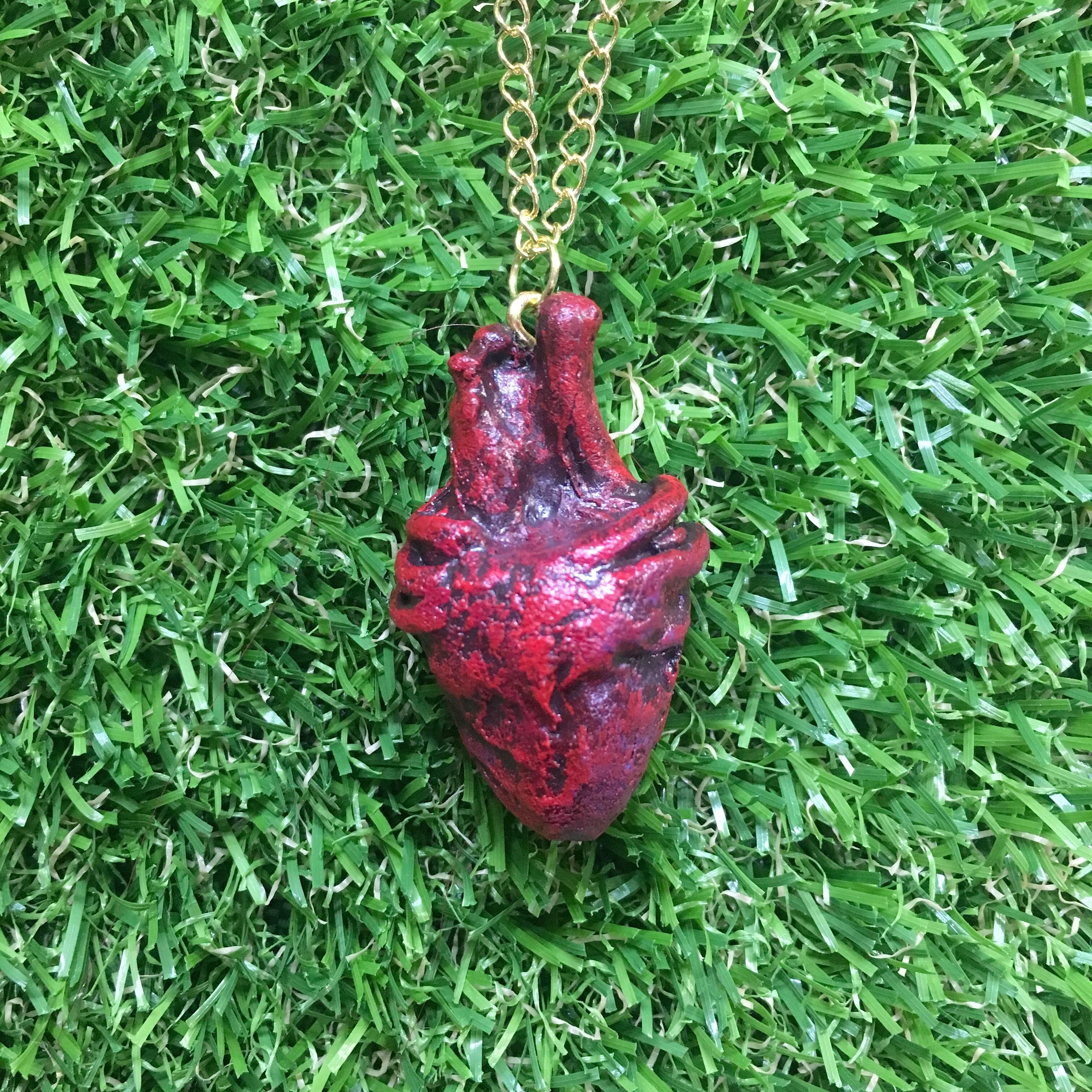 【Kさま/オーダー】心臓ネックレス
