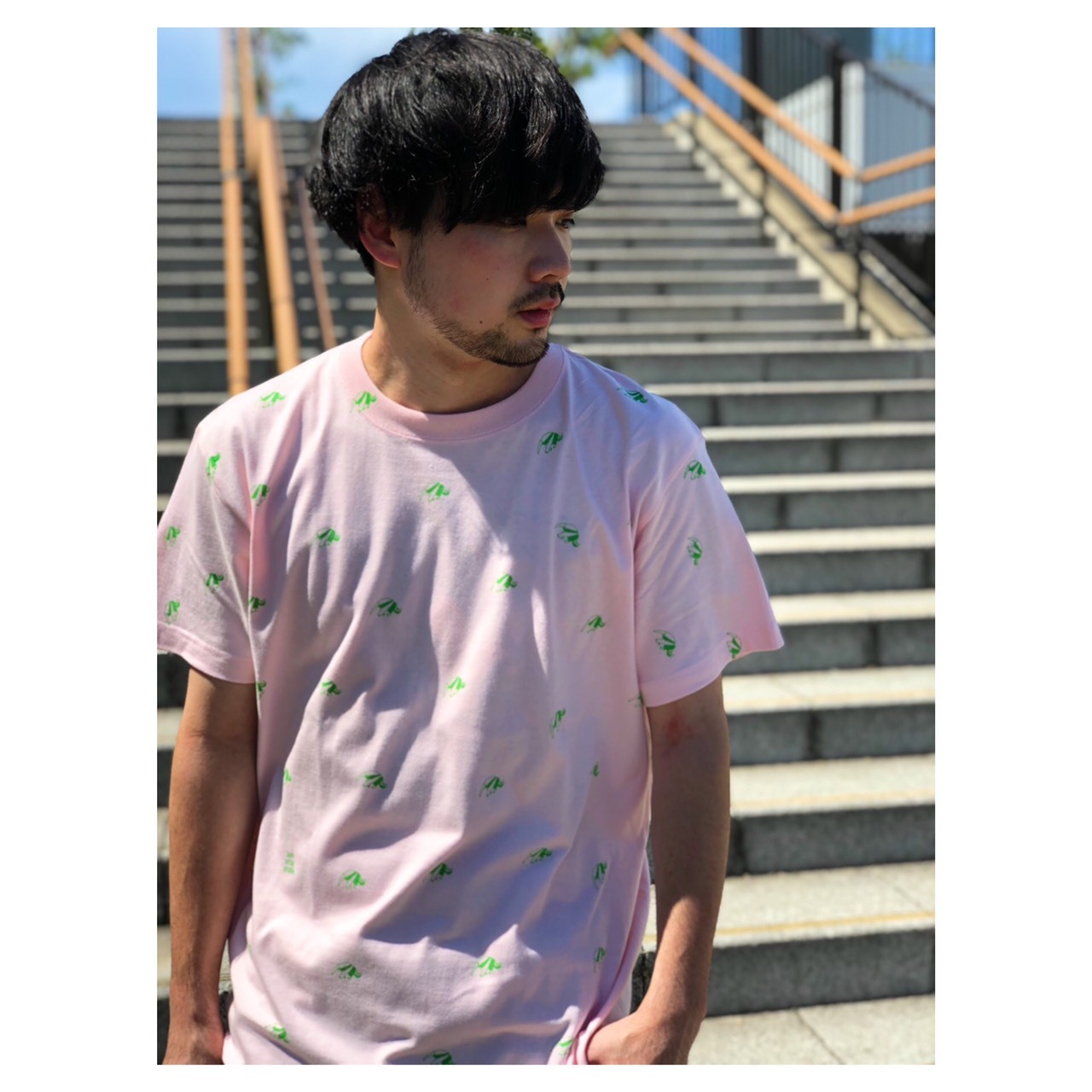 Anteater Tee ーライトピンクー