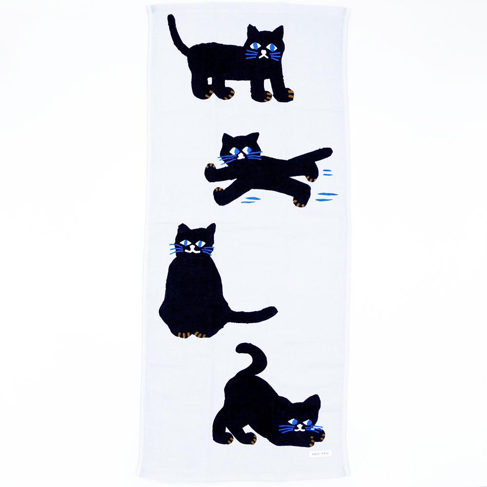 猫フェイスタオル(SOUSOUねこ)