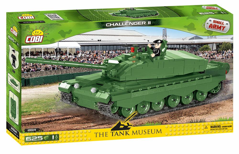 COBI #2614 チャレンジャーII 主流重戦車