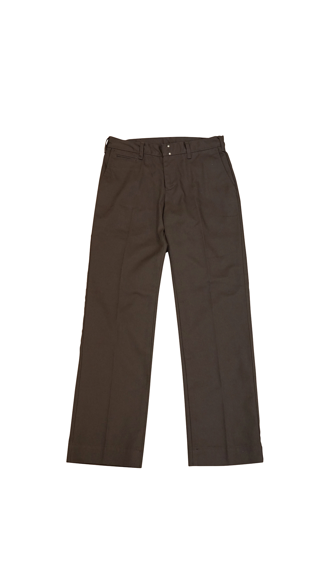 T/C SLACKS PANTS (BROWN)