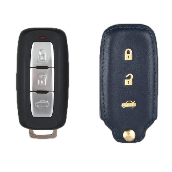 Mitsubishi 専用 TypeA Car Key Case Shrink Leather Case