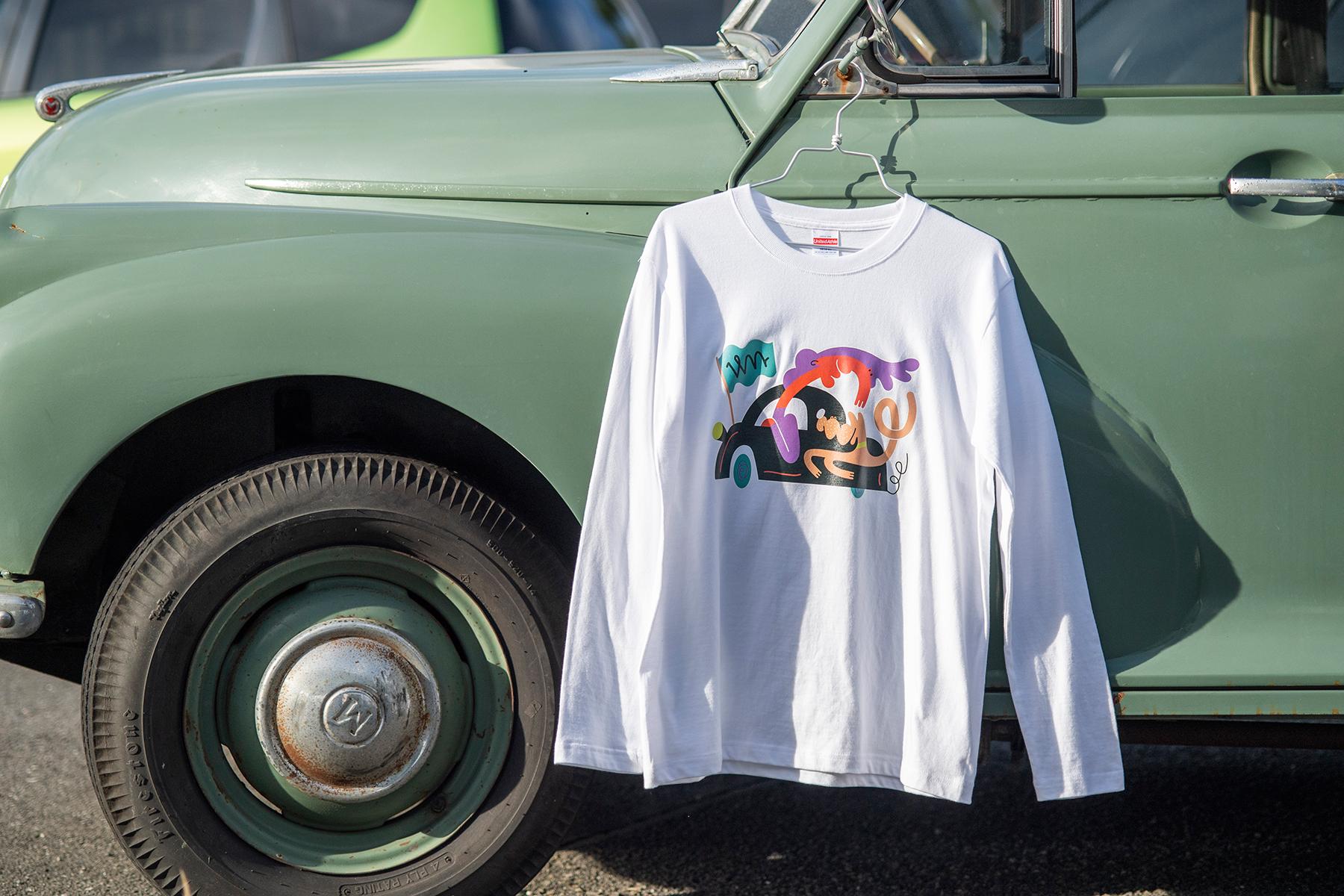 渡辺モータース商会 / original long sleeve T-shirt