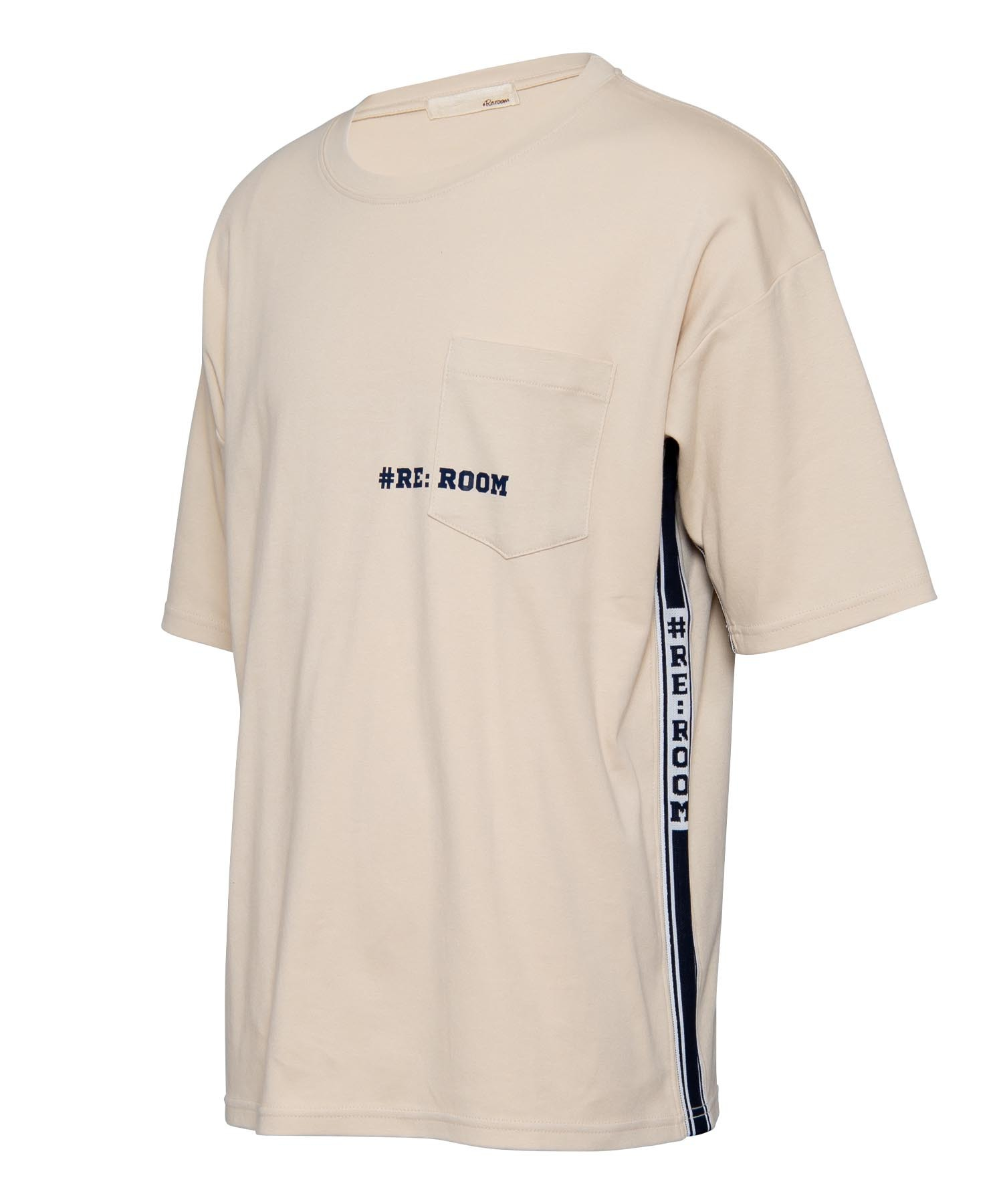 SIDE LINE LOGO BIG T-shirt[REC295]