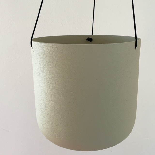 Asta Hanging White Φ17cm×17cm ハンギングプランター・鉢カバー