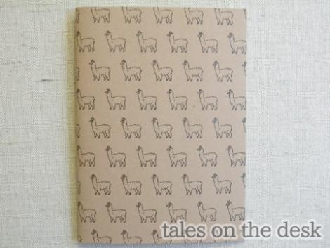 ノート - アルパカノート - tales on the desk