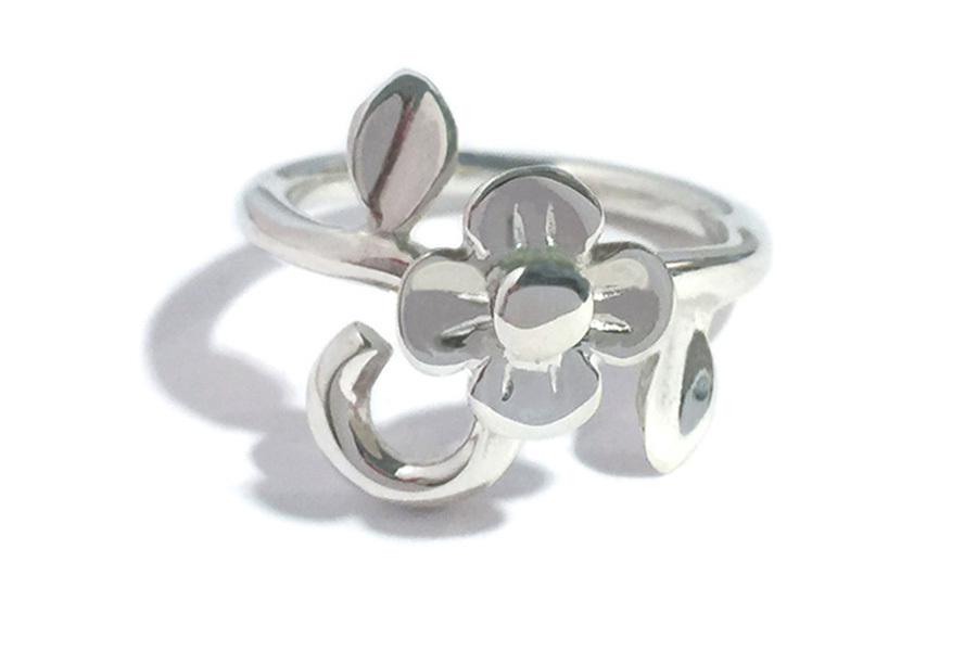 MireyHIROKI 一輪の花のリング(PLAIN) ★受注製作品