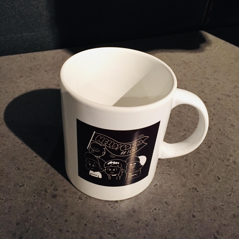 ハローコンタ 1巻 出版記念マグカップ
