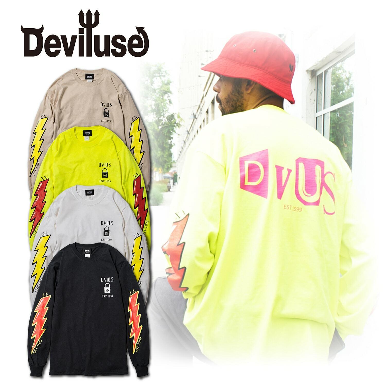 Deviluse(デビルユース) | VOLT L/S T-shirts