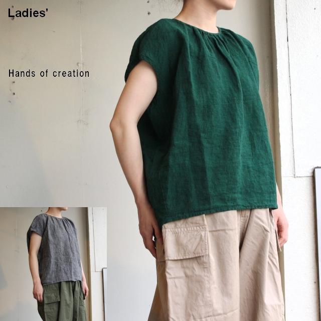 Hands of creation GCフレンチスリーブシャツ 2カラー 1930627