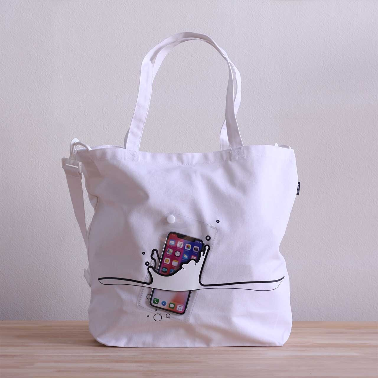 splash BAG +plus(ホワイト)